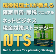 これからネットで起業を考えている方におすすめのネットビジネス専用の税金対策マニュアルです